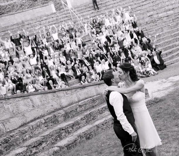 Mariage aux Arènes de Doué-la-Fontaine