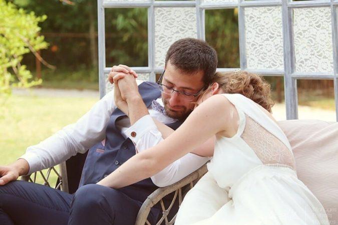 Mariage à la Grange des Barres à Noizay